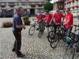 Fahrradtour durch den Landkreis in Weiler