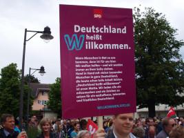 Kundgebung am Stadtplatz am 11.06.2016